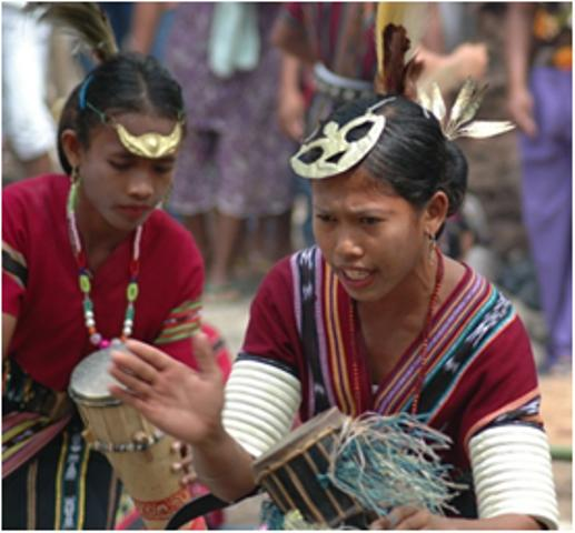 Traditional culture is still practised on Seram Island