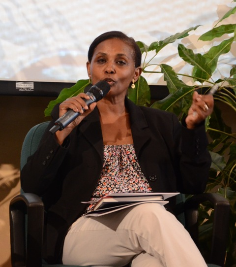 Segenet Kelemu, Science Week 2013, World Agroforestry Centre