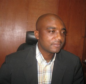 Land and water management scientist Bertin Takaoutsing. Photo: ICRAF