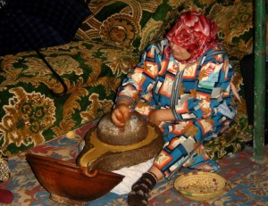 Extraction of argan oil is traditionally carried out by women