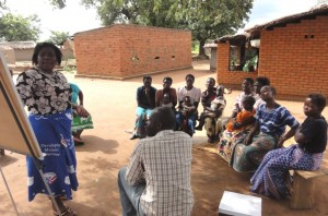 Focus group discussions in Malawi. Seline Meijer.