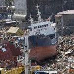 Tacloban City in the Philippines was devastated by Tropical cyclone Haiyan