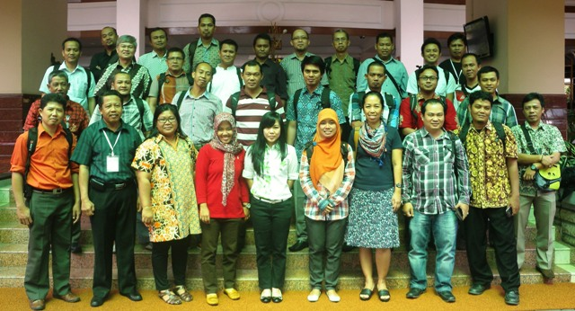 Some of the participants of the workshop. Photo: World Agroforestry Centre/Bonie Dewantara
