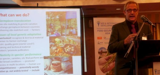 Dr James M. Roshetko, AIDF Food Security Summit Asia 2014
