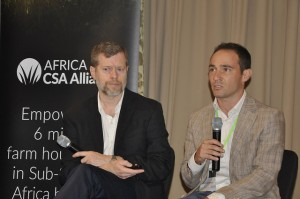 Doug Brown, World Vision International and Todd Rosenstock, ICRAF
