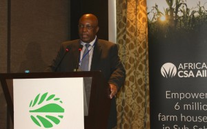 Martin Bwalya, Head of the Comprehensive Africa Agriculture Development Programme, NEPAD at the African Union.