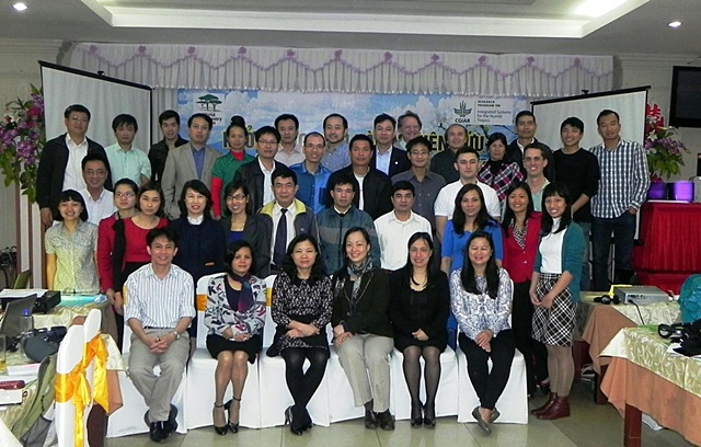 R4D Platform meeting participants, Son La, Viet Nam, 13 March 2015