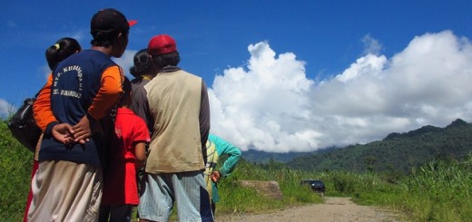 Buol, villagers, landscape