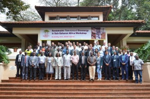 Participants at the workshop on sustainable tree-based bioenergy hosted by ICRAF. Photo/ ICFAF
