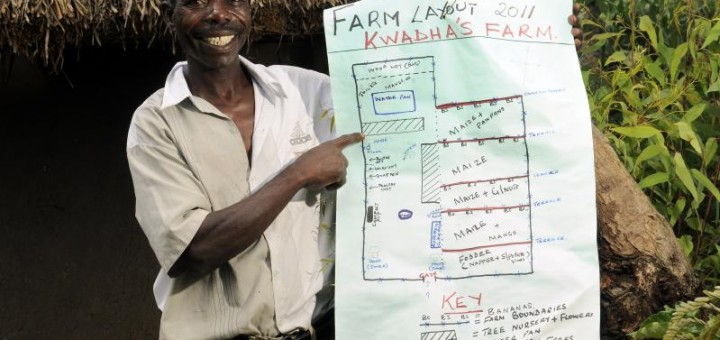 Climate-smart agriculture is becoming a reality for millions of farmers around the world. Photo: N. Palmer (CIAT)