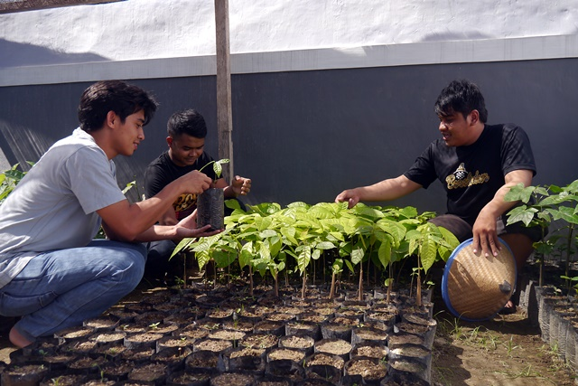 AgFor extensionists in Gorontalo. Photo: World Agroforestry Centre