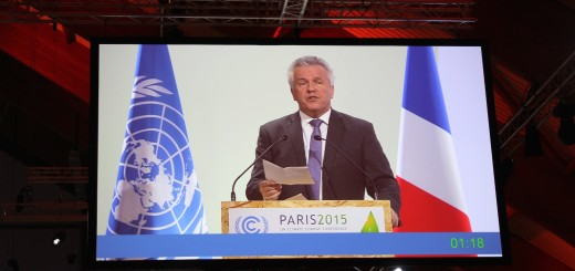 Making high-level statement at Paris COP21