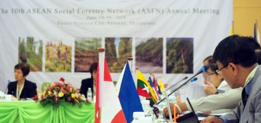 Tenth annual meeting of the ASEAN Social Forestry Network. Photo: World Agroforestry Centre/Robert Finlayson