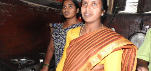 V R Kumari and VR Netra of Huvinnahalli village, Hassan district. Photo by Babita Bohra/ ICRAF