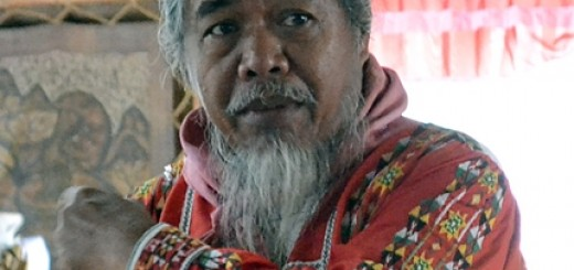Datu Migketay of the Tala-andig. Photo: World Agroforestry Centre/Amy Cruz