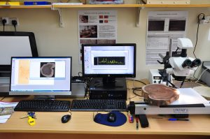 The dendrochronology laboratory at ICRAF