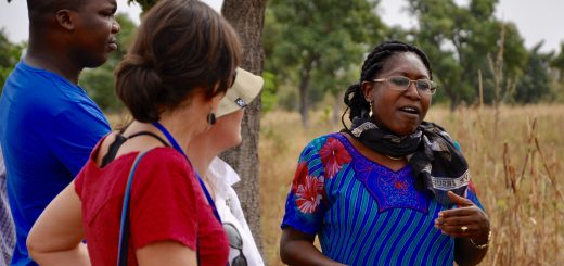 Dr. Catherine Dembele of the World Agroforestry Centre in West Africa. Photo/Susan Onyango