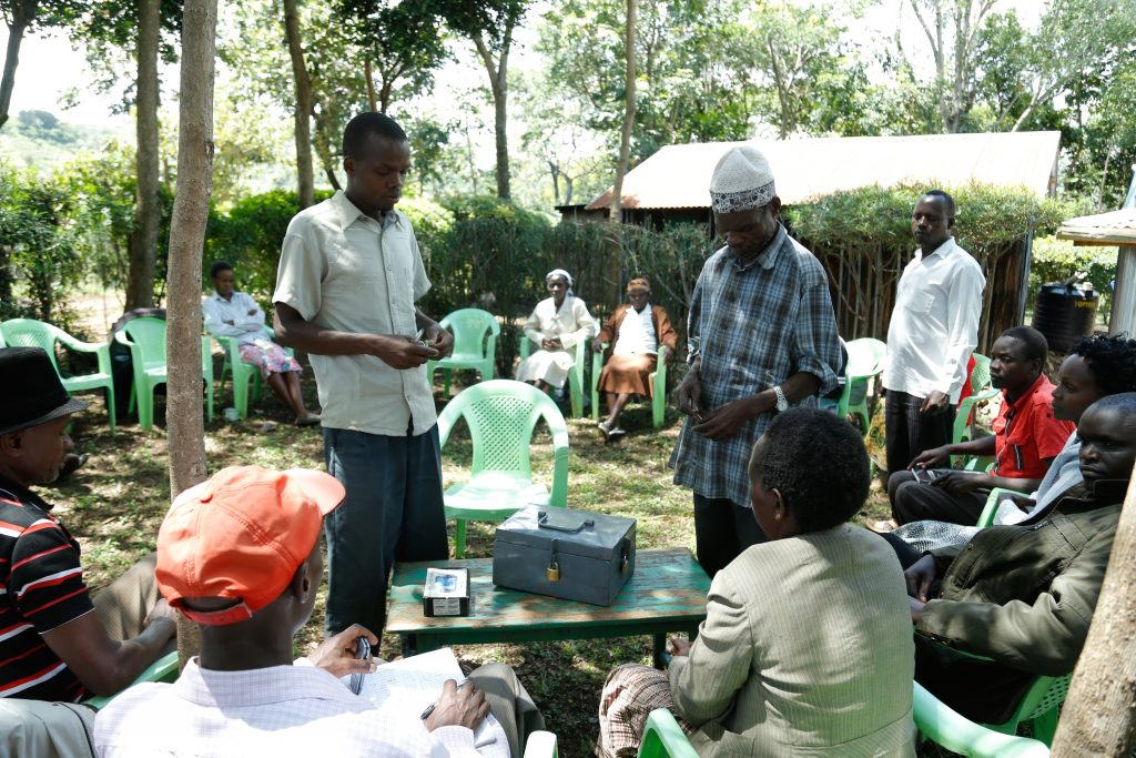 Village savings and loaning associations have given community members access to resources to improve their livelihoods. Photo: World Agroforestry Centre.