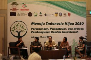 Dialogue between local and nasional level on low emission development in National workshop